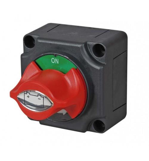 Marine Battery Isolator, Removeable Control Knob  060511