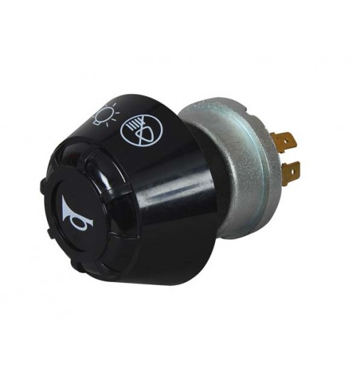 Off-side-dip-main Headlamp Rotary with Horn Push  064570