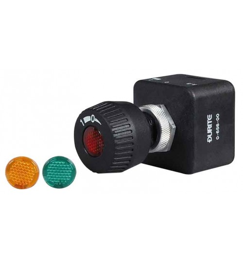 On-off,Splash Proof Rotary, with Choice of Lens  065600