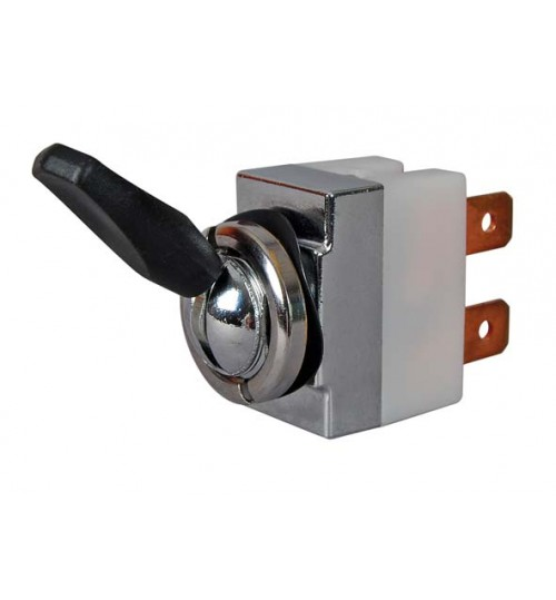 On-on, Single Pole, Plastic Paddle Lever, 18 Amps  065811