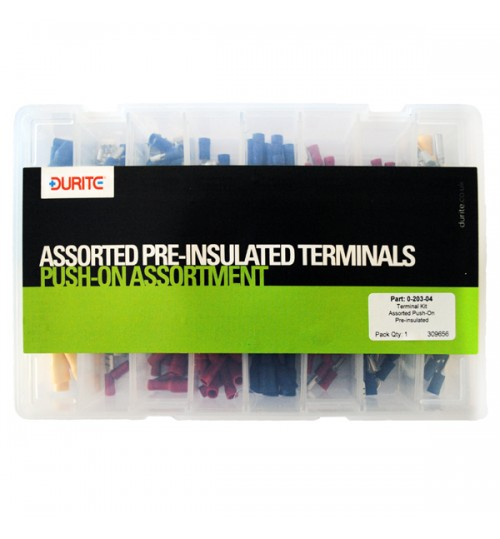 Push On Assorted Pre-Insulated Terminals 020304
