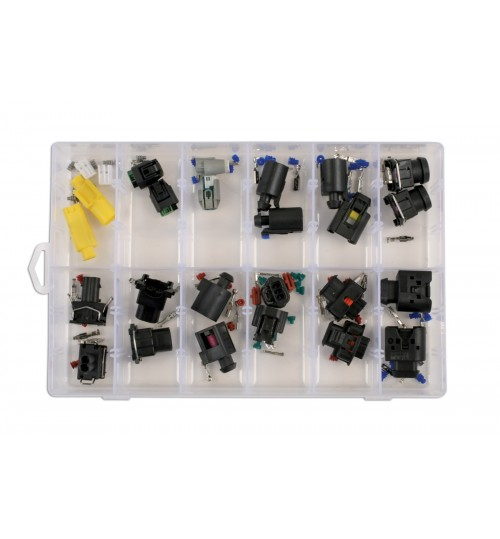 Assorted BMW Mercedes Electrical Connector Kit 37409