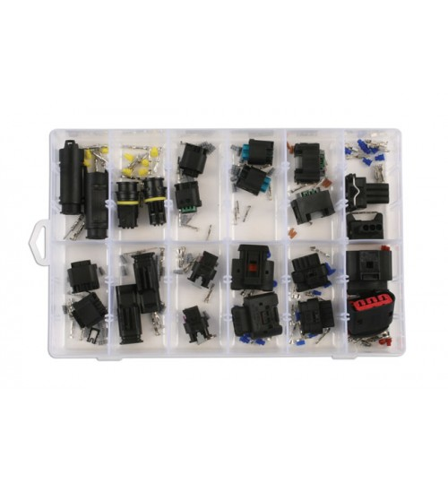 Assorted BMW Mercedes Electrical Connector Kit 37410