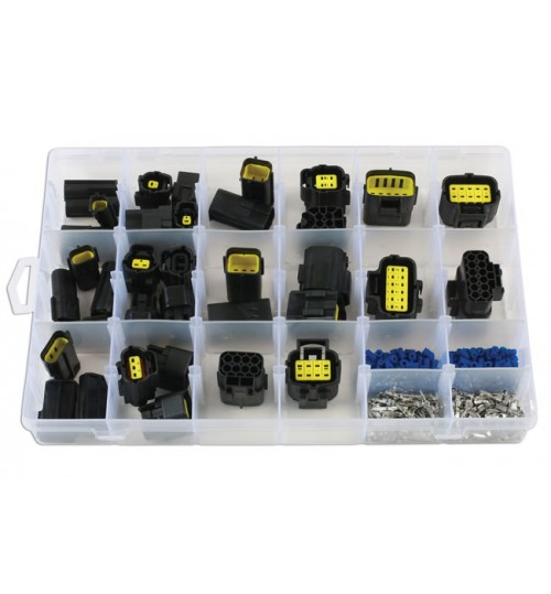 Assorted AMP Econoseal J Series Connectors 37417