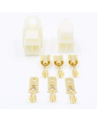 3 Way 6.3mm Housing Connector Kit PK9