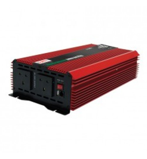 12V 3000W Compact Modified Wave Voltage Inverter 085640
