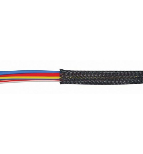 Black Braided Sleeving   032519