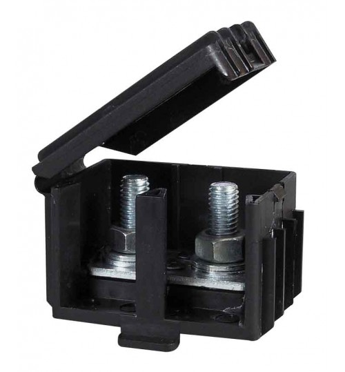 Black Moulded Insulated Housing 046650