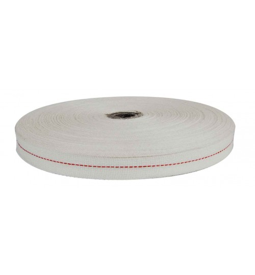 Cotton Field Coil Tape with Red Centre 052700
