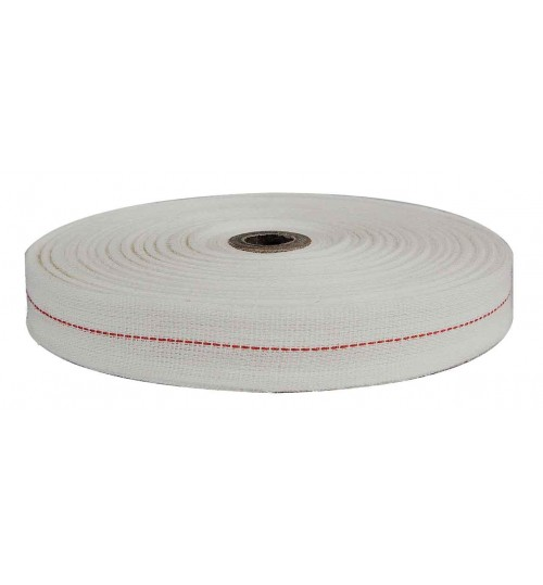 Cotton Field Coil Tape, Red Centre 052800