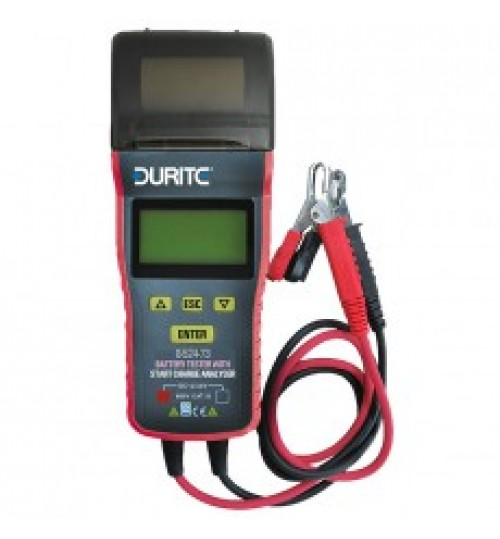 Battery Tester with Start Charge Analyser  052473