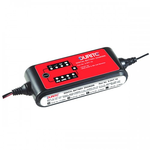 9 Step Full Automatic Digital Battery Charger Maintainer 064716