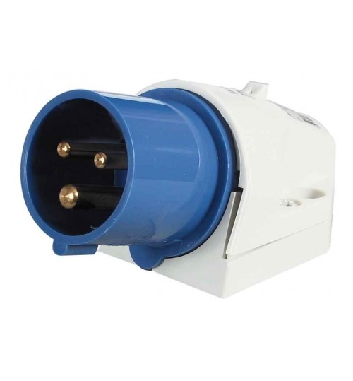 Blue Surface Mounted Plug  068466