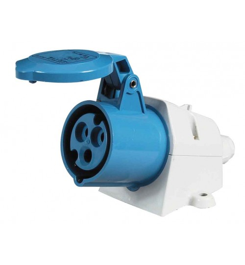 Blue Surface Mounted Socket   068469