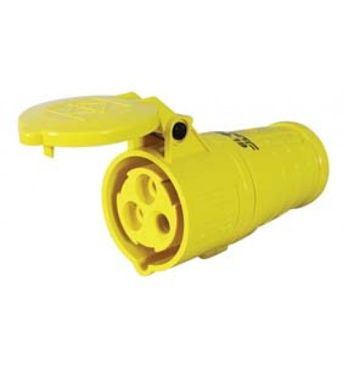 Yellow Trailing Socket   069819