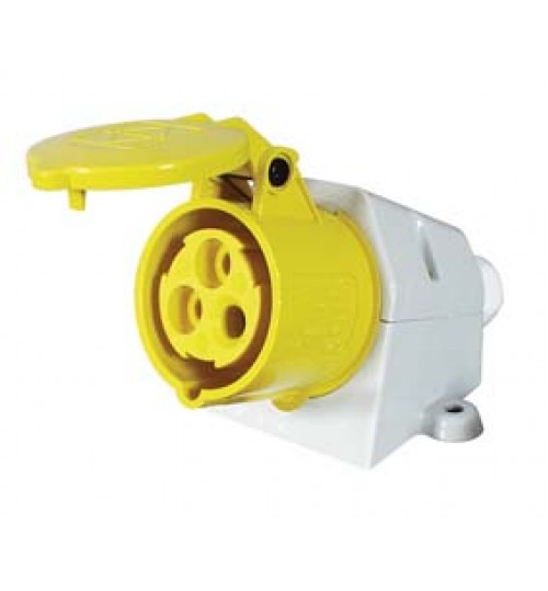 Yellow Surface Mounted Socket   069869