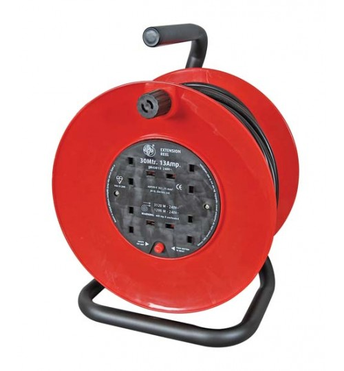 30m Mains Extension Reel   072380