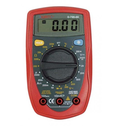 Handheld Digital Multimeter 079800